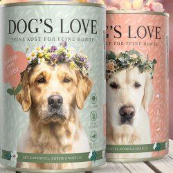 Dogs Love Menü (Kartoffel, Kürbis, Marille)