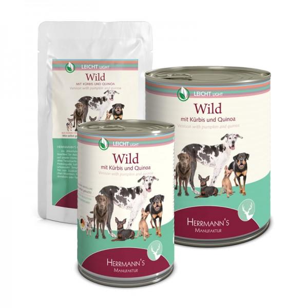 Wild mit Kürbis und Quinoa (Herrmanns Manufaktur)