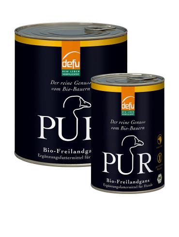 Defu Pur Freilandgans Hundefutter