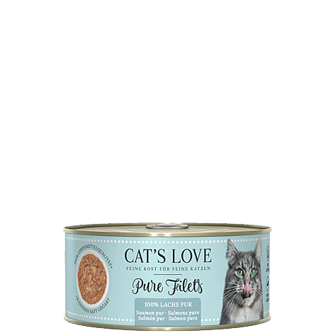 Katzenfutter Cats Love Filet Lachs